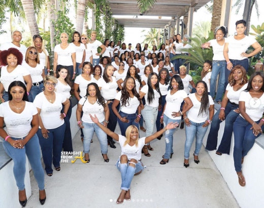 #RHOA Nene Leakes Hosts 1st Annual LADIES OF SUCCESS All-Girls Weekend in Miami… (PHOTOS)