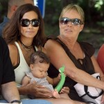 Baby Flix ~ Halle Berry & Nahla at the Zoo
