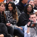 Spotted ~ Ciara & Whoopi Courtside + Fantasy Ride Leakage