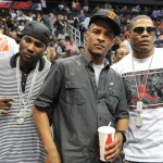 Flix ~ Celebs Courtside at Hawks v. Cavs (Game 3)