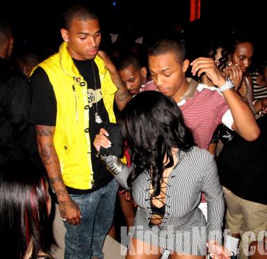 Chris Brown, Bow Wow & Groupie