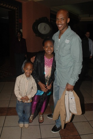 Stephon Marbury (Boston Celtics) son & daughter