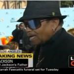 Video ~ Joe Jackson at 2009 BET Awards (CNN Interview)