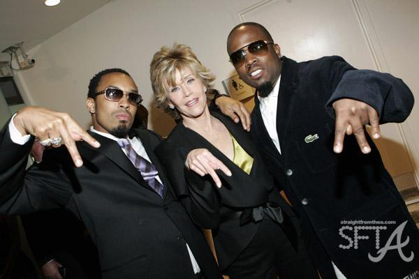 Dallas Austin, Jane Fonda, Big Boi