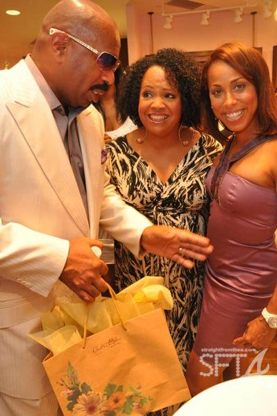 Steve Harvey & Wife
