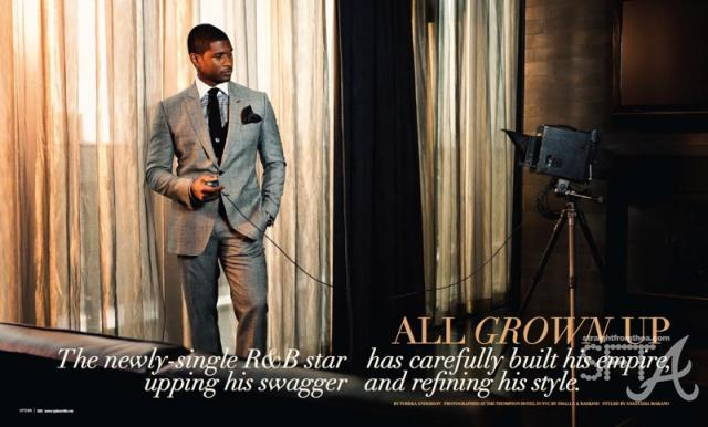 Usher ~ Uptown Magazine Shoot