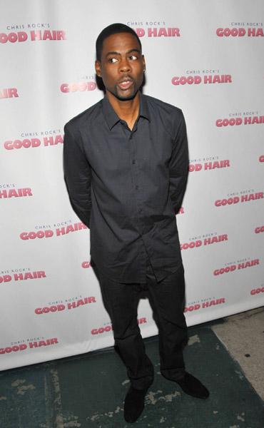 Chris Rock ~ Good Hair Premiere