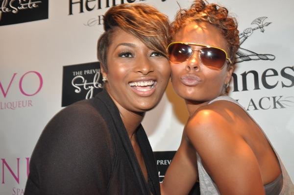 Tocarra & Eva Pigford ~ 2009 BET Hip Hop Awards Style Suite