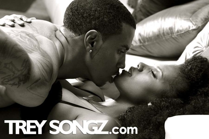 Trey Songz ~ I Invented Sex Video Shoot
