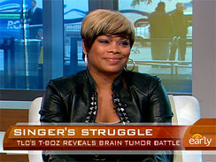 "Tionne ""T-Boz"" Watkins ~ The Early Show"