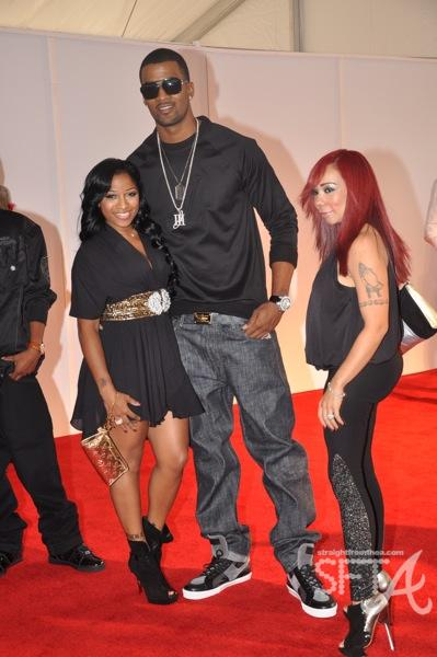 "Antonia ""Toya"" Carter, James Hardy, Tameka ""Tiny"" Cottle ~ 2009 BET Hip Hop Awards"