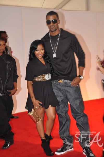 "Antonia ""Toya"" Carter and James Hardy ~ 2009 BET Hip Hop Awards"