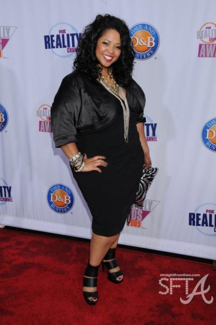 "Kim ""Poprah"" Kearney ~ Fox 2009 Really Awards"