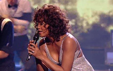 Whitney Houston ~ x-factor (Wardrobe Malfunction)