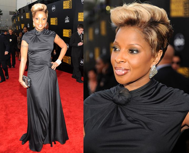 Mary J. Blige ~ 2009 American Music Awards Red Carpet