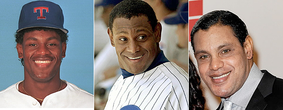 Sammy Sosa ~ Before During & After