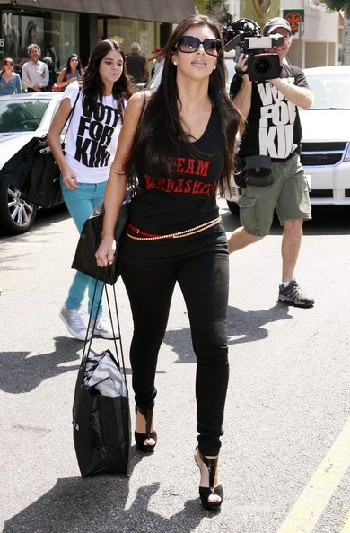 Kim Kardashian Shopping