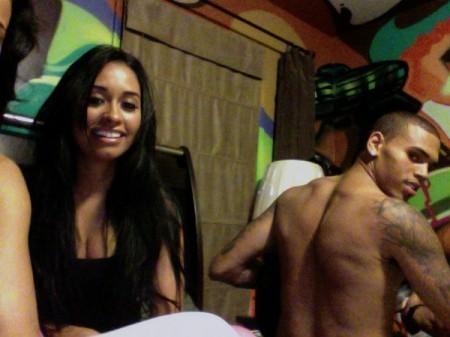 chris brown wife naked