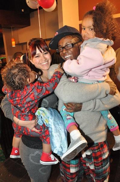 Lil Wayne, Sara & Son Dwayne Carter III