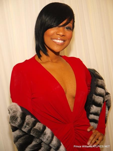 Devyne Stephens Christmas Party 2009 ~ Monica