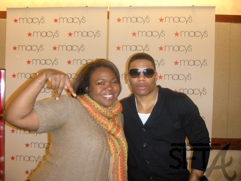 ATLien & Nelly at Macy's
