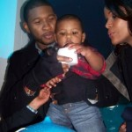 Quick Flix ~ Usher & Tameka Celebrate Navyid's 1st Birthday