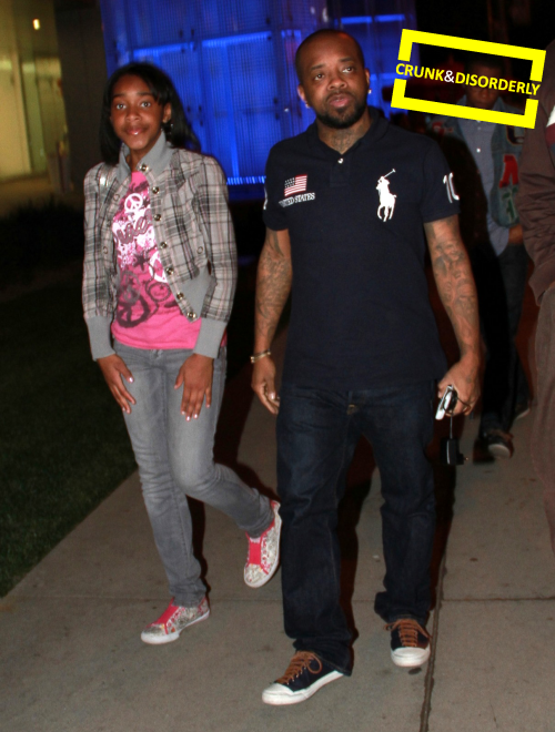 pic of the day  daddy day with jermaine dupri