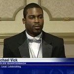 Mike Vick Receives Courage Award [VIDEO]
