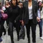Quick Flix: Ciara & Kim Kardashian Do Lunch…