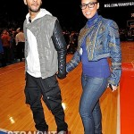 Love & Basketball: Alicia Keys & Swizz Beatz Spotted Courtside w/ Kanye & More…