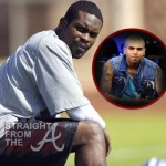 Michael Vick Wants Chris Brown to Know? [VIDEO]