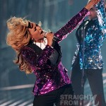 """Beyonce Rubs Baby Bump During """"Love on Top"""" Performance… [VIDEO + PHOTOS]"""