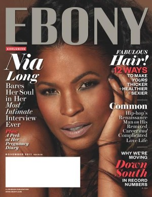 Nia Long: Nude and Pregnant for Ebony - The Hollywood Gossip