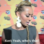 Did Keri Hilson Throw MORE Shade at Beyonce? [VIDEO]