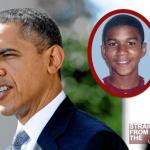 President Barack Obama Speaks on Trayvon Martin… [VIDEO]