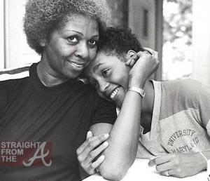 Rare Whitney Houston Photos Cissy