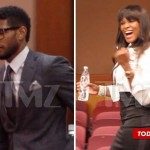 Usher & Tameka Battle It Out in Court While His New Boo Plays the Background… [PHOTOS]