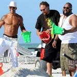 Beach Body Motivation: Shemar Moore Bares 40+ Body in Miami… [PHOTOS]