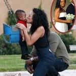 EXCLUSIVE! Meet Maya Fox-Davis: Tameka's Bridesmaid/Usher's Cut Buddy…  [PHOTOS + VIDEO]