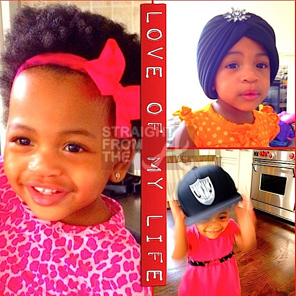 Celebrity Kids Ne Yo And Monyetta Shaw Introduce Madeline