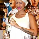Is Amber Rose A Pregnant Vodka Spokesperson? [PHOTOS]
