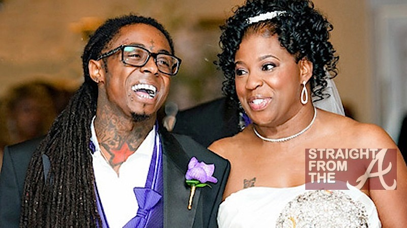 lilwaynemothercitawedding straight from the a sfta