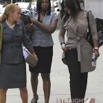 Raymond vs. Raymond – Usher & Tameka Return To Court For Custody Battle… [PHOTOS + VIDEO]