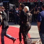 "Amber Rose Pulls a ""Beyonce""! Reveals Baby Bump on 2012 VMA Red Carpet… [PHOTOS]"