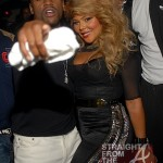 Boo'd Up: Lil Kim & Floyd Mayweather Kick It in The Club… [PHOTOS]