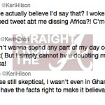 Anatomy Of A Rumor: Keri Hilson Dissed Online After 'Spoofed' Thanksgiving Tweet…