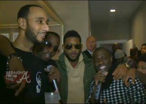 Usher Diddy Pause