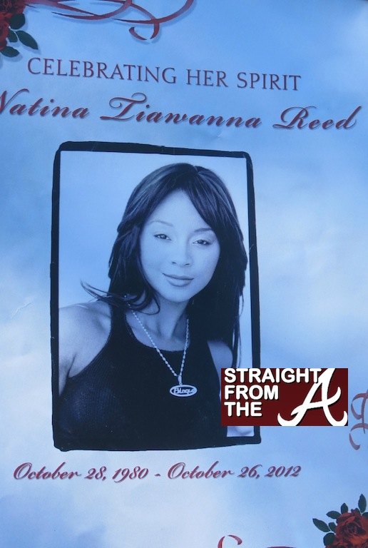 Natina Reed Funeral Program Straight From The A SFTA