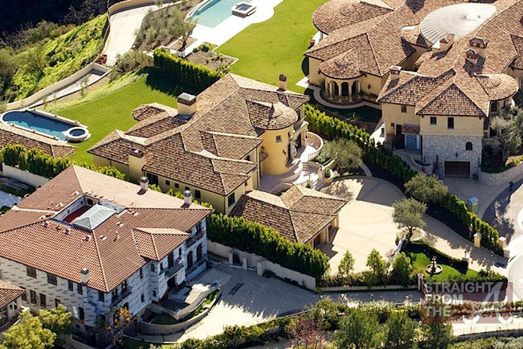 Kanye Kim Kardashian Mansion-13 - Straight From The A ...