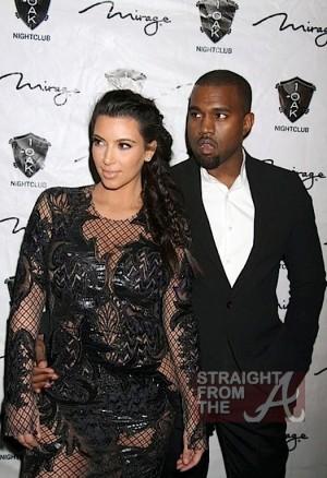 Kim Kardashian Kanye West New Years 2013-3